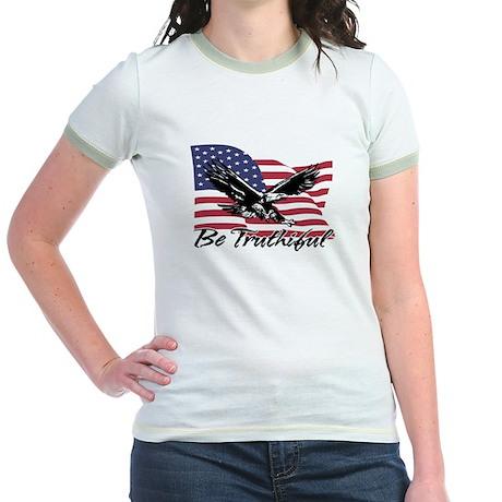 Be Truthiful Jr. Ringer T-Shirt