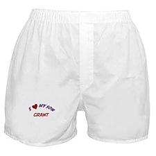 I Love My Son Grant Boxer Shorts