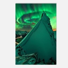 Cute Northern lights Postcards (Package of 8)