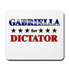 GABRIELLA for dictator Mousepad