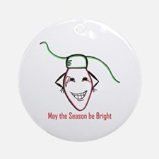 Christmas bulb Ornament (Round)