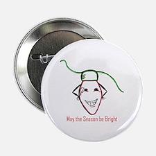 "Christmas bulb 2.25"" Button (100 pack)"