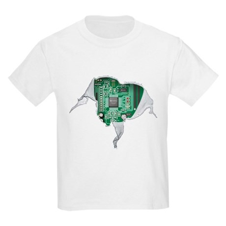 CafePress Motherboard Hear T-Shirt