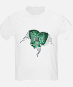 Motherboard Hear T-Shirt