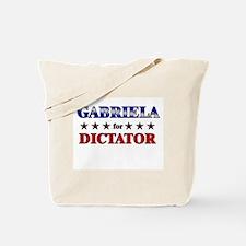 GABRIELA for dictator Tote Bag