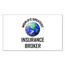 World's Greatest INSURANCE BROKER Decal