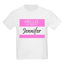 Jennifer Kids T-Shirt