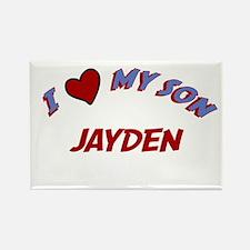 I Love My Son Jayden Rectangle Magnet