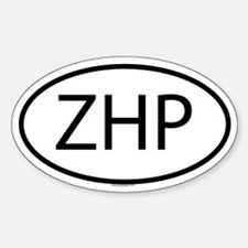 ZHP Oval Decal