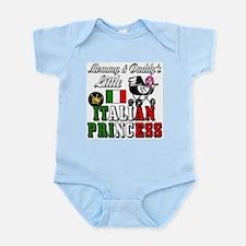 mommy&daddy's little italian princess Infant Bodys