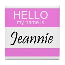Jeannie Tile Coaster