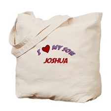 I Love My Son Joshua Tote Bag