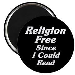Religion Free Magnet