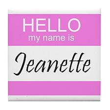 Jeanette Tile Coaster