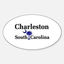 Charleston South Carolina Oval Decal