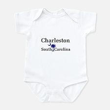 Charleston South Carolina Infant Bodysuit