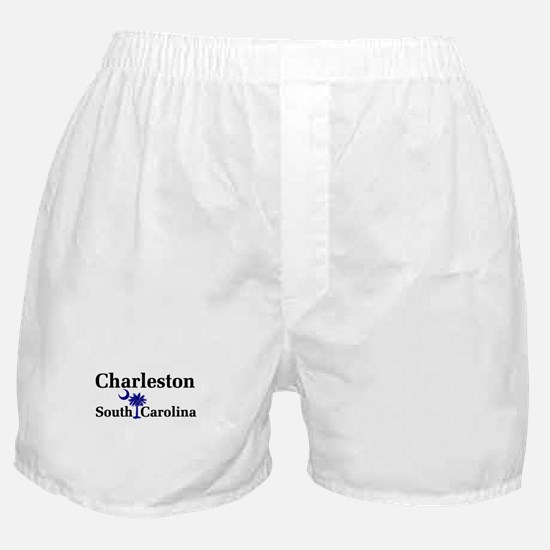 Charleston South Carolina Boxer Shorts