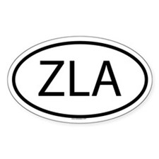 ZLA Oval Decal