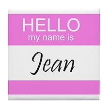 Jean Tile Coaster