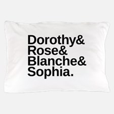 Golden Girls Name List Pillow Case