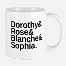 Golden Girls Name List Mug