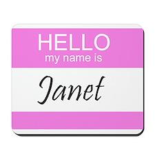 Janet Mousepad