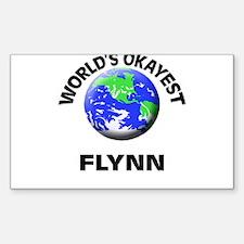 World's Okayest Flynn Decal