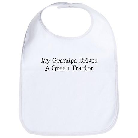 My Grandpa Drives a Green Tractor Bib