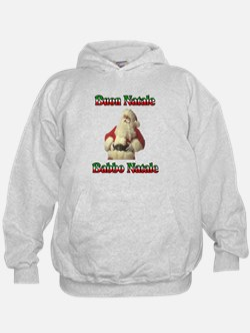 Buon Natale Babbo Natale Hoodie