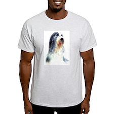 Bearded Collie #2 Ash Grey T-Shirt