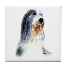 Bearded Collie #2 Tile Coaster