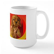 Cavalier Ruby Puppy Mug