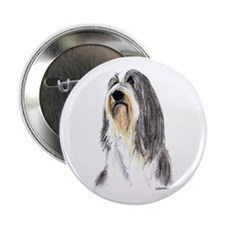 Bearded Collie #1 Button