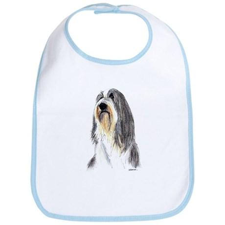 Bearded Collie #1 Bib
