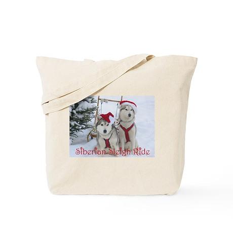 Jaco & Mingus Siberian Sleigh Tote Bag