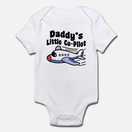 Daddy's Little Co-Pilot Infant Bodysuit