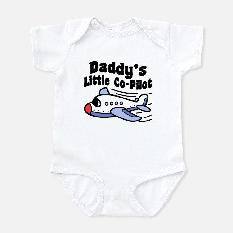 Daddy's Little Co-Pilot Infant Bodysuit
