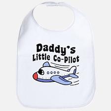 Daddy's Little Co-Pilot Bib