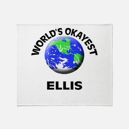 World's Okayest Ellis Throw Blanket