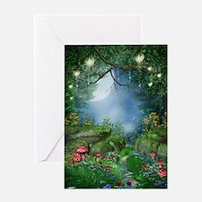 Mystic Mushrooms Greeting Card