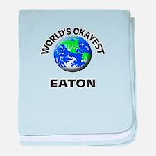 World's Okayest Eaton baby blanket