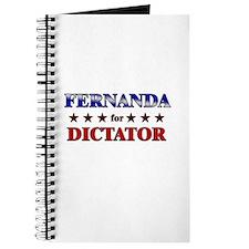 FERNANDA for dictator Journal