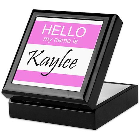 Kaylee Keepsake Box