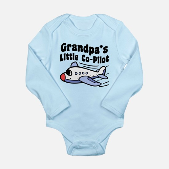 Grandpa's Little Co-Pi Long Sleeve Infant Bodysuit