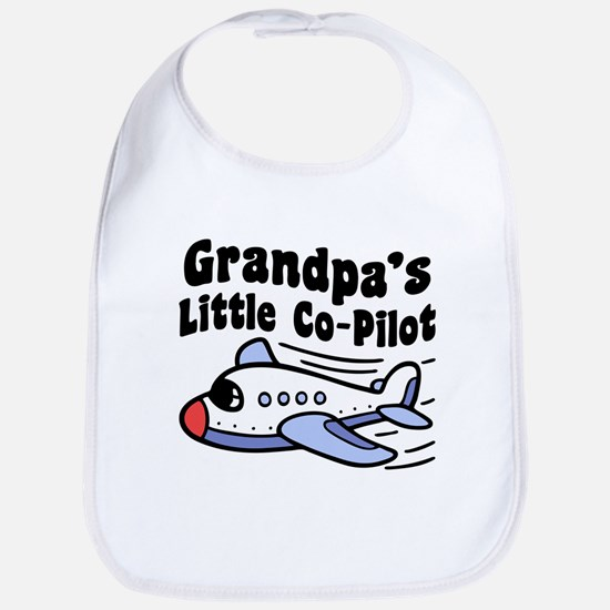 Grandpa's Little Co-Pilot Bib