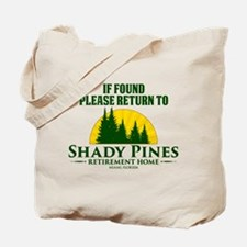 Return to Shady Pines Tote Bag