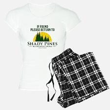 Return to Shady Pines Pajamas