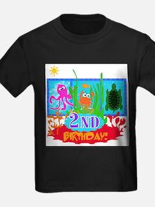 UNDERSEAF2NDBDAY T-Shirt
