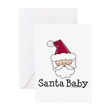 Santa Baby Christmas Greeting Card