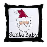 Santa Baby Christmas Throw Pillow